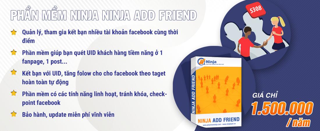 Phần mềm Ninja Add Mem Group