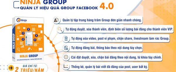 Phần mềm group facebook bán hàng